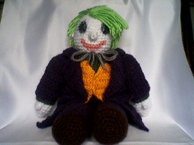 Jokerplushie fullview by MasterPlanner