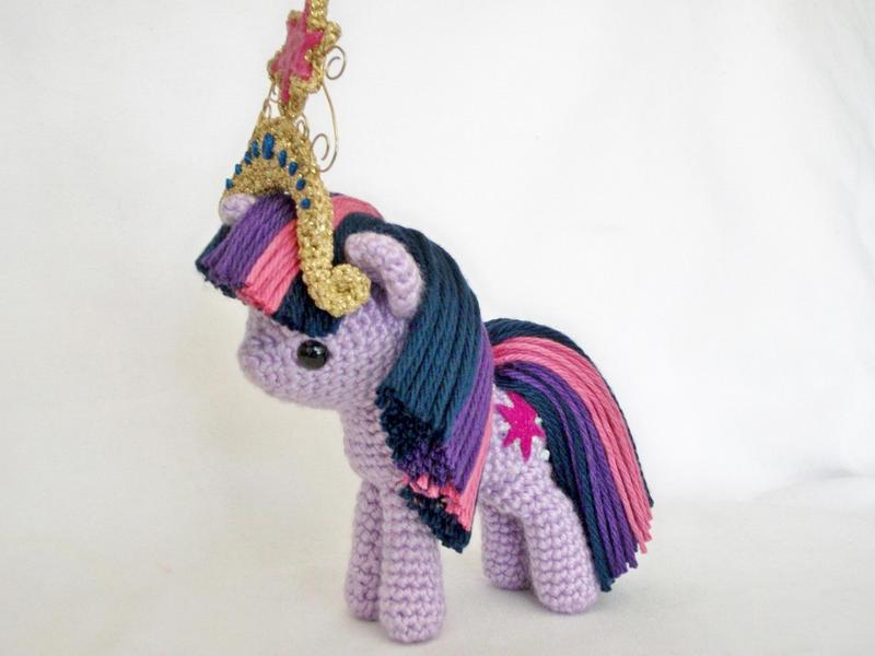 twilight sparkle miniplush by MasterPlanner