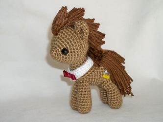 doctor whooves miniplush by MasterPlanner