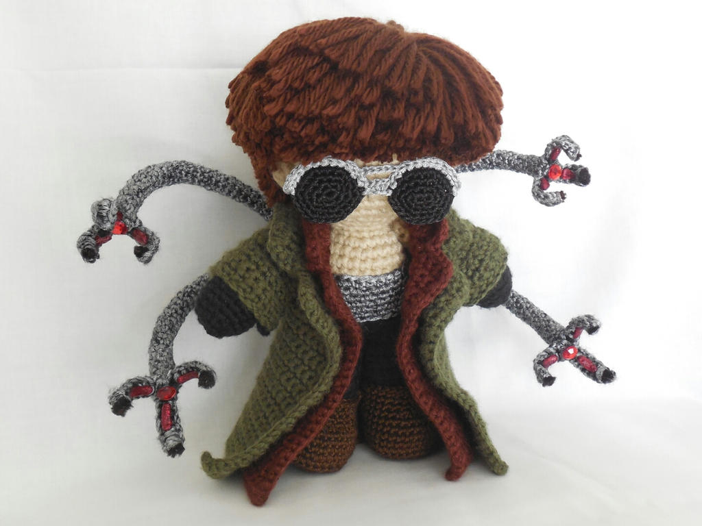 doctor octopus miniplush by MasterPlanner