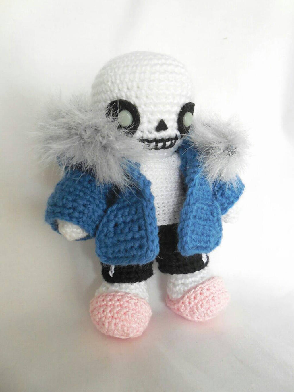 sans miniplush for craftyallie by MasterPlanner on DeviantArt