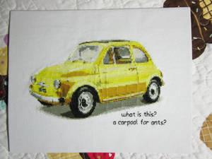 a carpool for ants