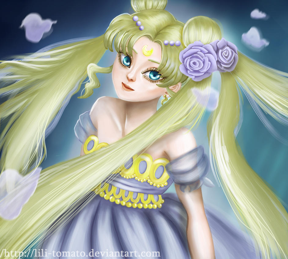 Princess Serenity by lili-tomato