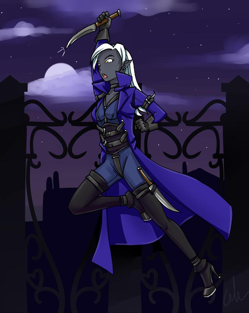 Mrrin Shadowflower by HeavenCommissions