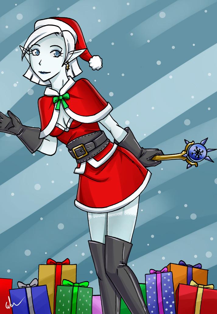 Vadria Christmas by HeavenCommissions