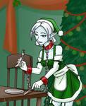 Shackled Christmas Elf