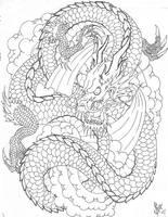 dragon by epidermalcanvas