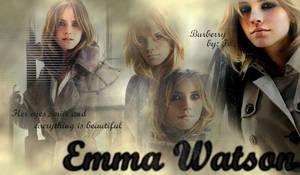 Emma Watson Burberry blend