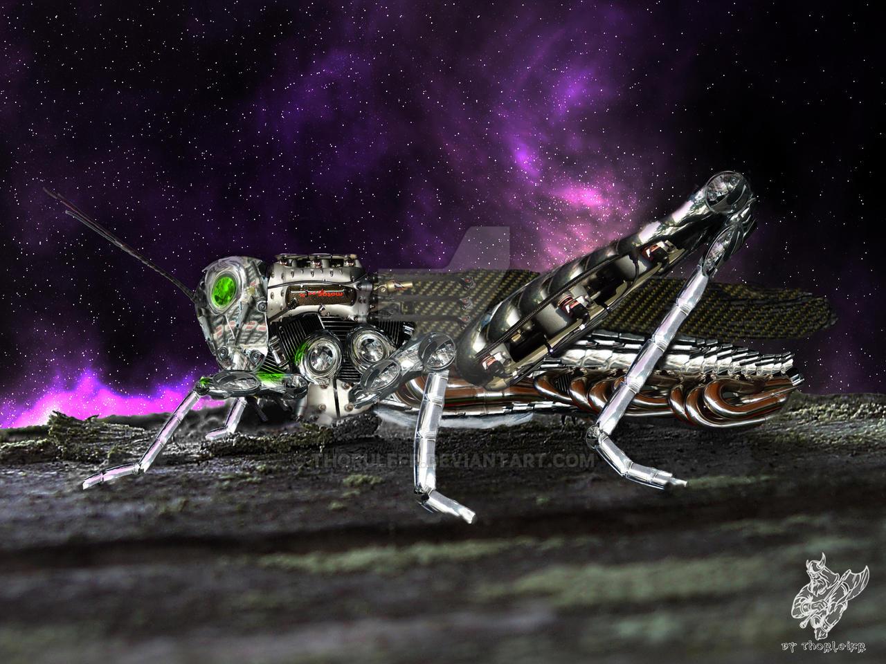 Cyber-Robot-Grasshopper