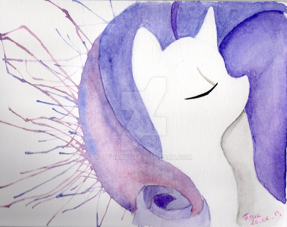 Rarity - My Little Pony by LylisArt