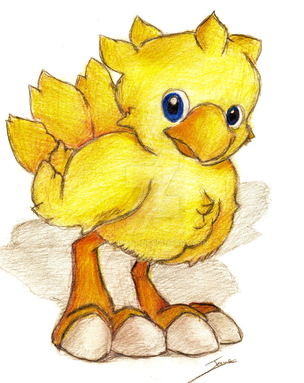 Chocobo by LylisArt