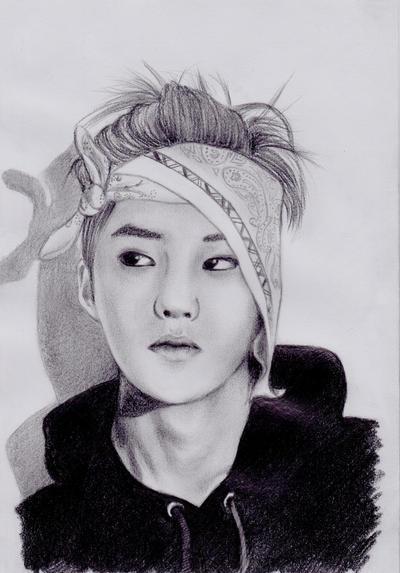 EXO M's Baozi Xiumin! by Devient-tart
