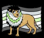 Agender Pride Lion