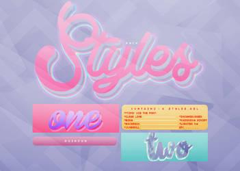 stylespack|1| by rqinsun