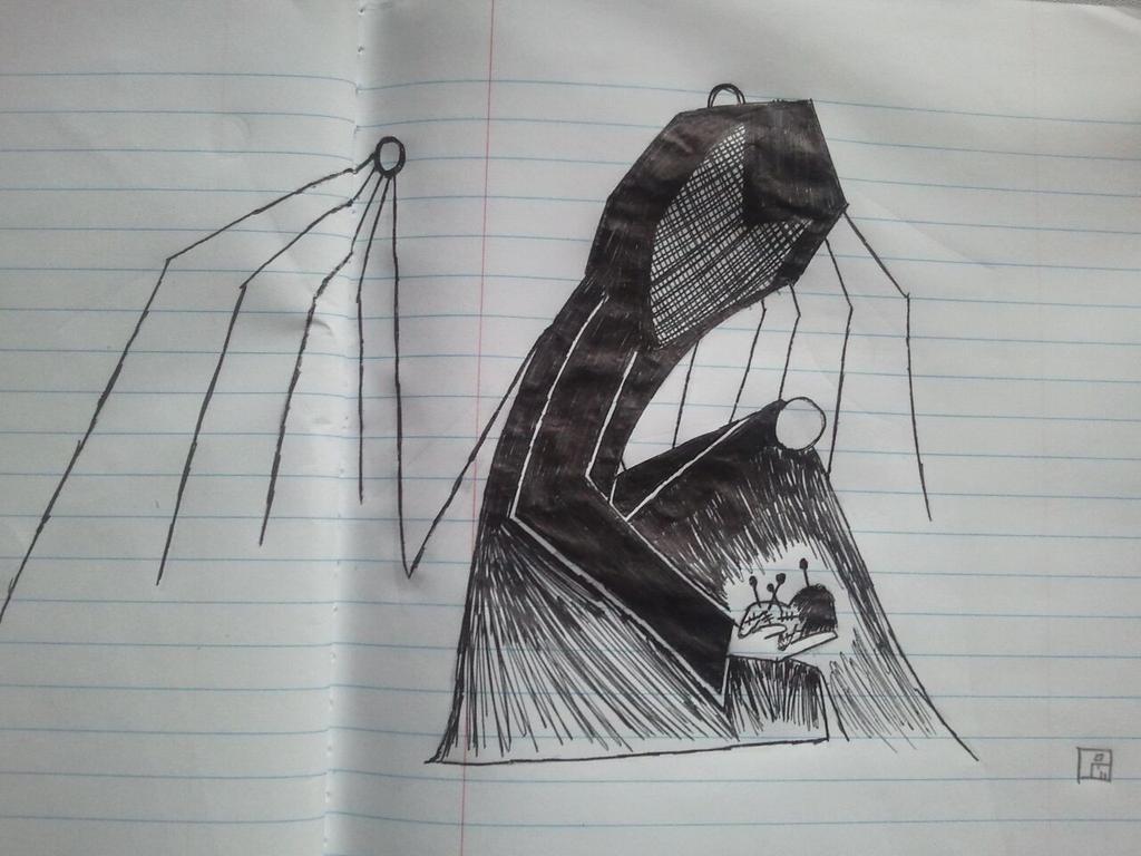 Sad Angel Drawing Sad Angel by Percival me