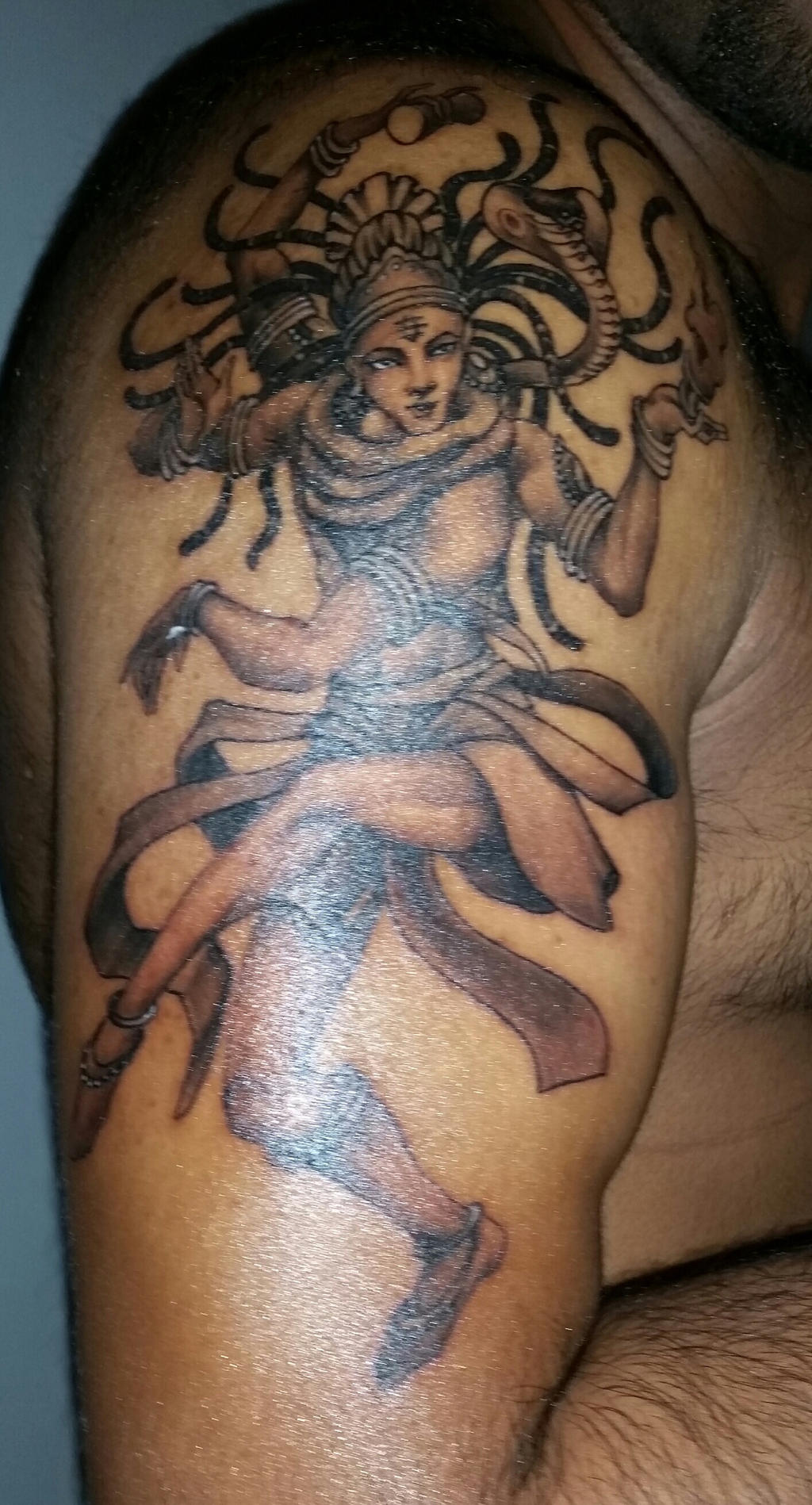 Tattoo Designs of Lord Shiva Angry images