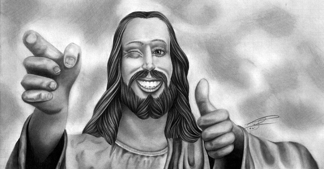 THE BUDDY CHRIST by LumpyGravy on DeviantArt