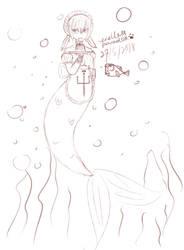 Mermaid cafe by Endless--Paradox
