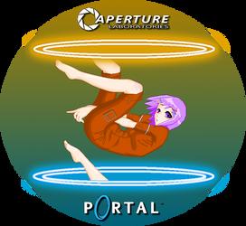 Portal OC by devilstoy01