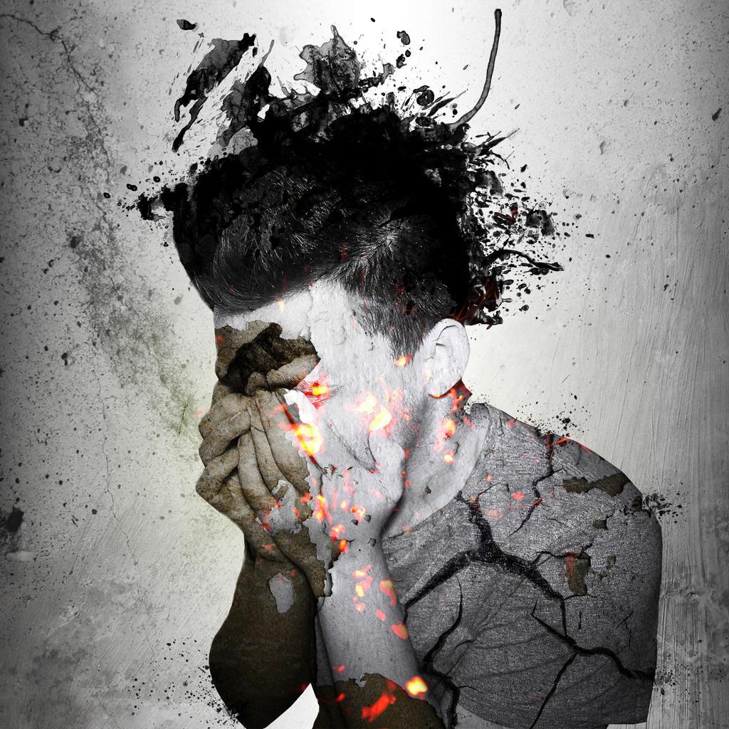 Sad Art by adenas599 on DeviantArt  Sad Paintings