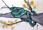 Snake Sketch by Mr.X