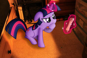 Twilight Sparkle, IN MY ROOM!? by sniper6vs7rocket