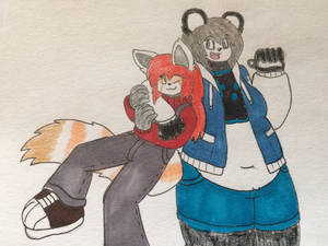 Maple and Sapphire: The Pixel Pandas
