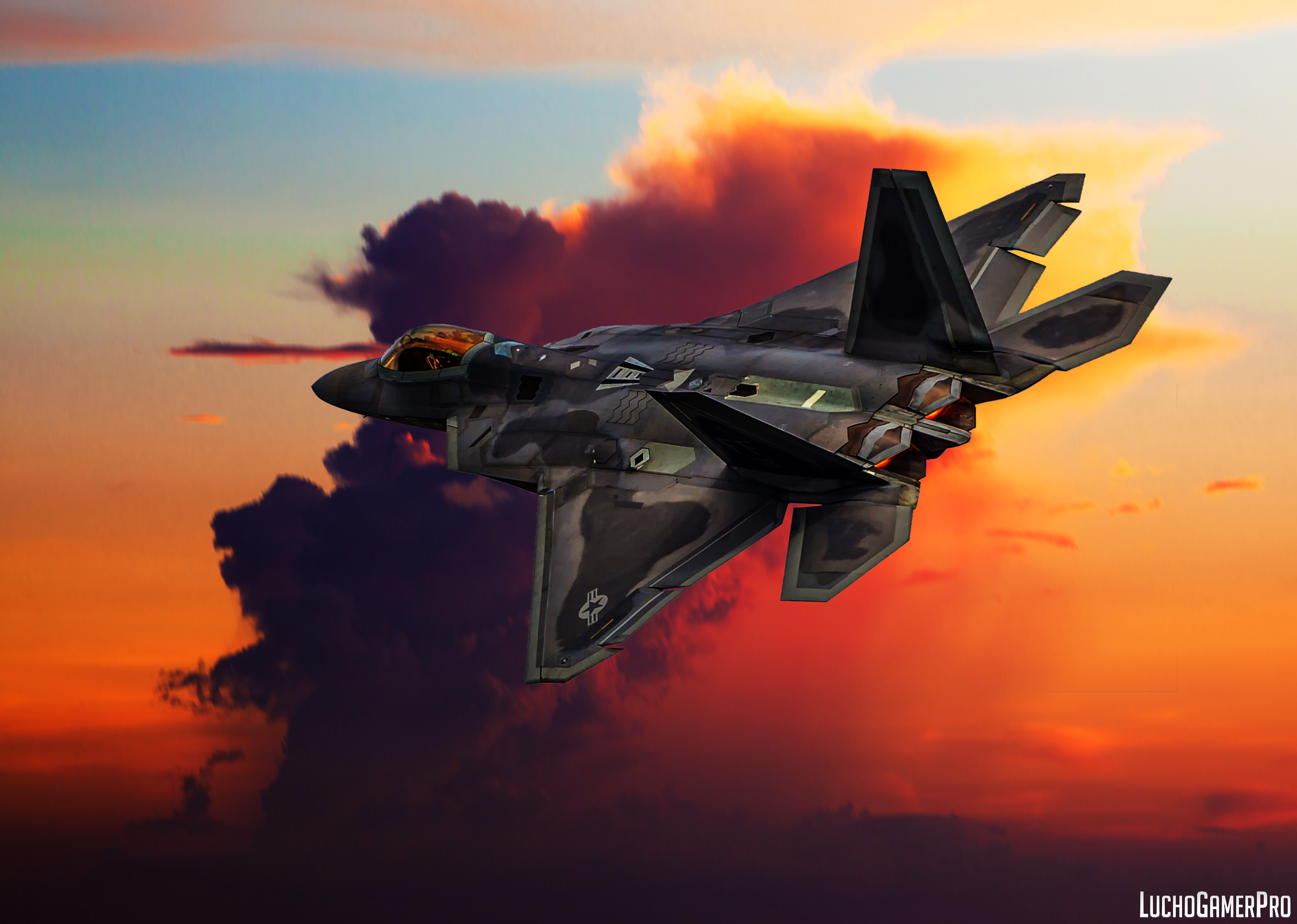 F 22 Raptor Wallpaper: F-22 Raptor By LuchoGamerPro On DeviantArt