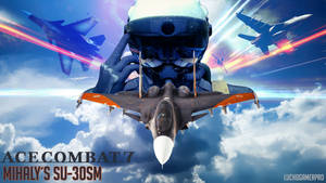 Ace Combat 7 Mihalys SU-30SM