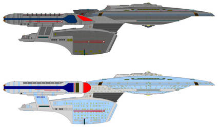Aurora sub class compared to Ambassador-class