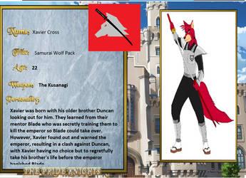 Xavier Pride Knight Bio