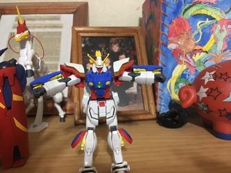 HGFC 1/144 Shining Gundam (Custom Painted)