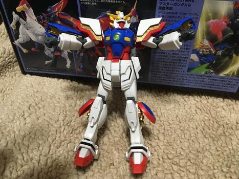 HGFC 1/144 Shining Gundam (Custom Painted. Take 2)