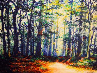Forest Brush by VanillaSnowflake