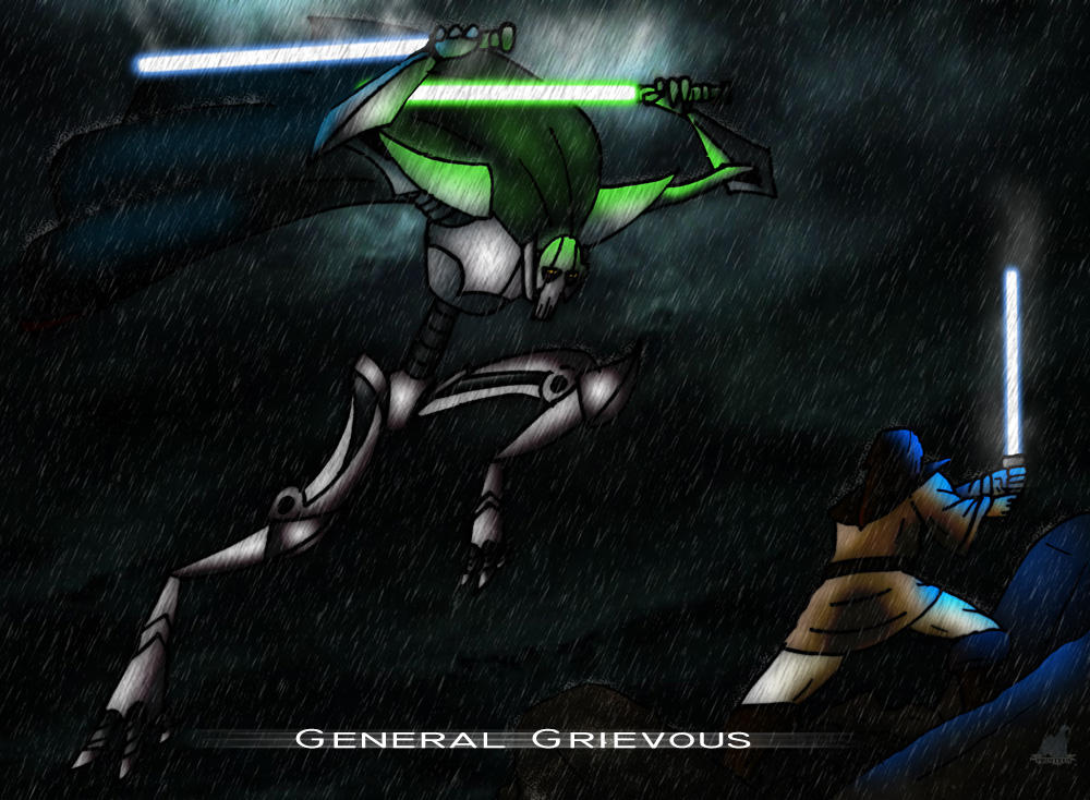 gallery for star wars general grievous wallpaper