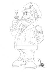 Sailor Comission - Sketch