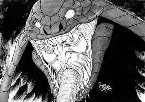 Snake Baron - Berserk (Inktober)