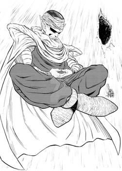 Piccolo Fanart - Inktober