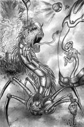 Bio-Mechanical Monster Laboratory by Mcantillan