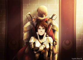 Serai - Arc Two: The Foreign Knight by ParaParano