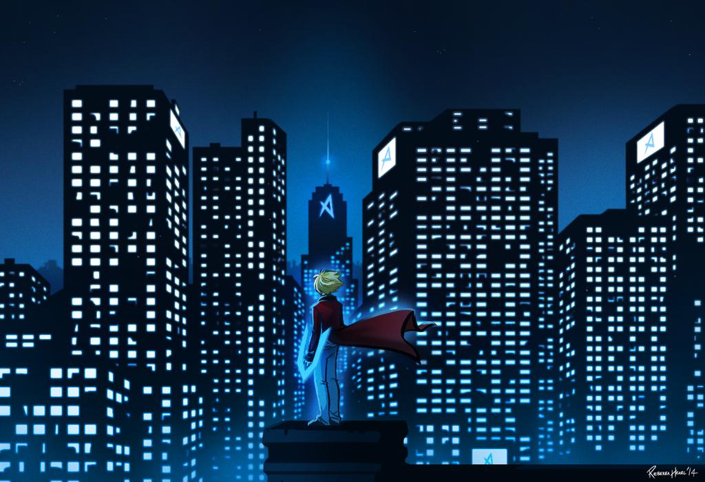 RAID - New Quebis City by ReincarnatedParano