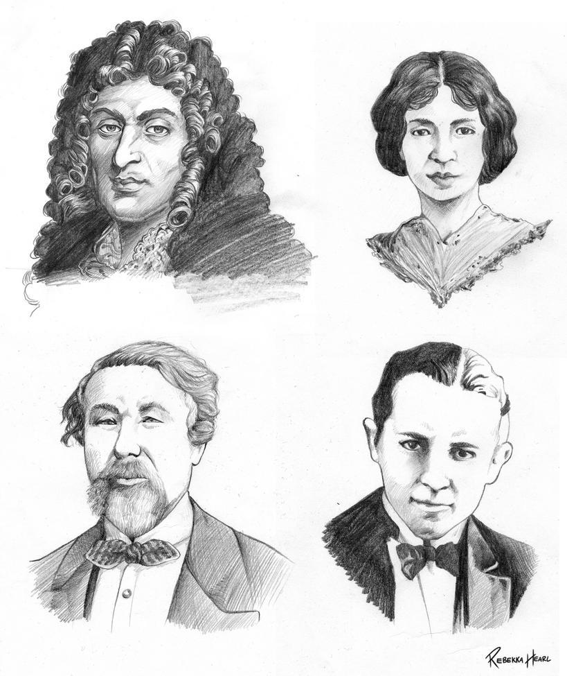 Commission - Forgotten Stars of History by ReincarnatedParano