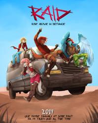 RAID Webcomic Announcement! by ParaParano