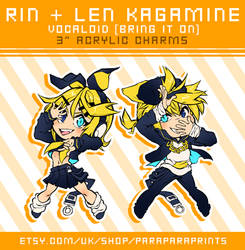Kagamine Rin and Len - Bring It On Ver. by ParaParano