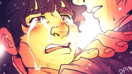 Serizawa cries a lot by ParaParano