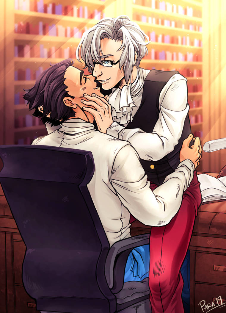 Commission - Wright and Edgeworth by ParaParano