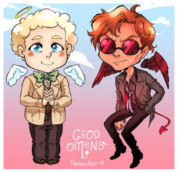 Good Omens by Allons-ee on DeviantArt