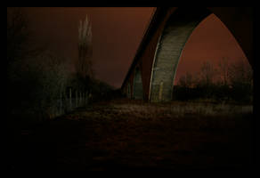 bridges at night by matze-end