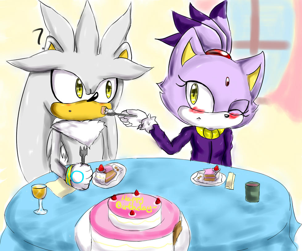 :Gift: Cake sharing by Cometshina