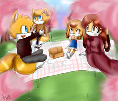 :CE: Picnic day by Cometshina